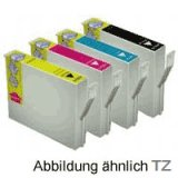 Druckerpatronen Epson Workforce WF-2510WF Druckerpatronen kompatibel Multipack 16XL,16,T1636,T1626 kompatibler Tintenpatronen Epson zu Epson T1631,T1632,T1633,T1634,T1636,C13T16364010 und Epson T1621,T1622,T1623,T1624,T1626,C13T16264010 kompatibel für folgende Drucker: Epson Workforce WF-2010W,WF-2520NF,WF-2530WF,WF-2540WF,WF-2630WF,WF-2650DWF,WF-2660DWF,WF-2660WF,WF-2750DWF 4 Patronen (je 1 x black, cyan, magenta, yellow) Füllmenge: 14ml black, je 10ml cyan, magenta, yellow Epson Ausschließlich